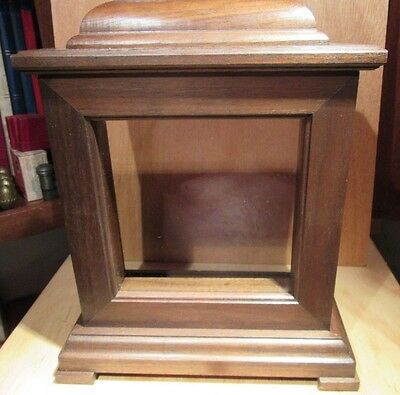 Vintage solid wood MANTEL / TABLE CLOCK CASES   CHERRY OR  WALNUT