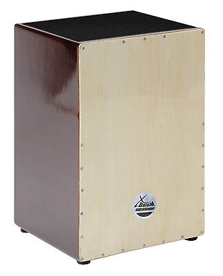 B-Ware Xdrum Cajon Trommelkiste Percussion Trommel Nature Brown Wood Instrument