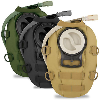 Small MOLLE Military Army Tactical Modular Hydration Pack Pouch 1.5L w/ Bladder