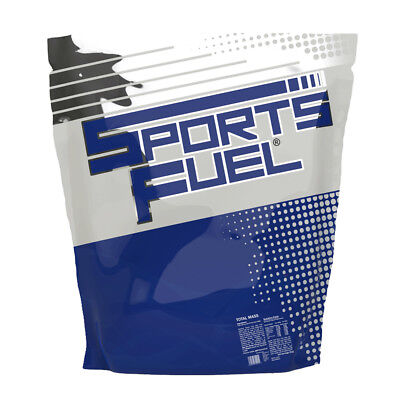 Sports Fuel 1kg Total Mass Weight Gainer Serious Whey Protein Powder Strawberry