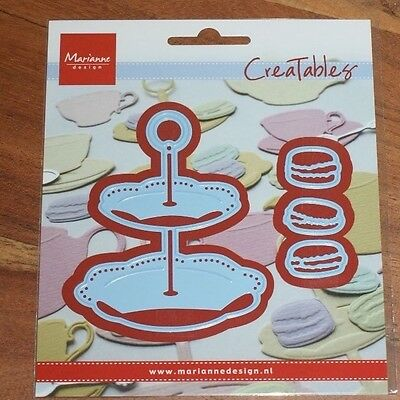 Lr0463 Creatable - Tiered Tray & Macarons