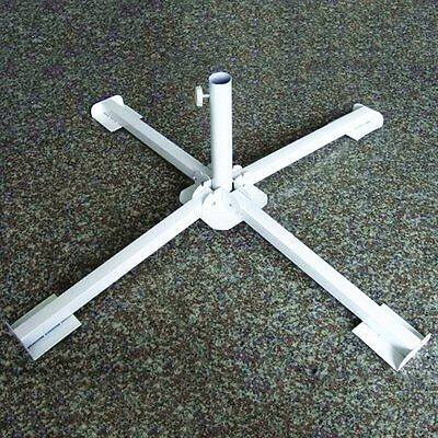 Newly Parasol Base Steel Fishing Sunproof Umbrella Stand Outdoor Portable Holder