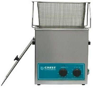 NEW Crest 1.5 Gallon CP500HT Ultrasonic Cleaner w/Heat and Basket