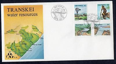 Transkei 1979 Water Resources Fdc