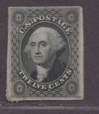 **US SC# 40p3 Unused XF Plate Proof on India, Small Stain CV $90.00