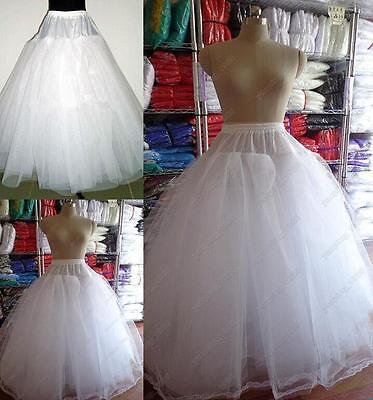 New 3 or 8 Layers Tulle no Hoop Wedding dress Petticoat Underskirt Crinoline