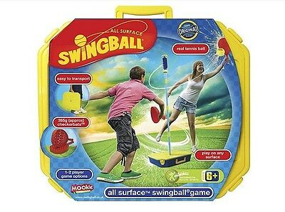Mookie All Surface Swingball Set For Whole Family Outdoor Sports Activity Fun