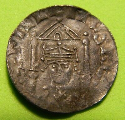 1066- 1087 ,extremely Rare William 1St (The Conqueror) Oxford Mint  Silver Penny