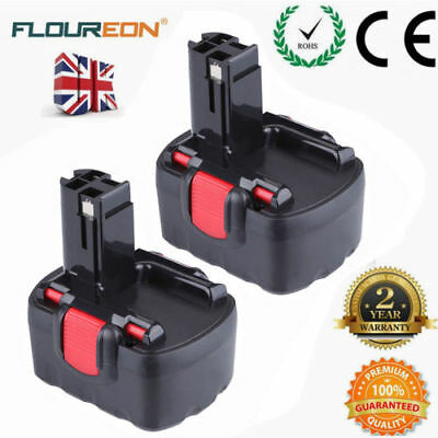 2X 14.4V 2.0Ah Ni-CD Battery for Bosch 2607335533 2607335276 3660CK PSR1440/B UK
