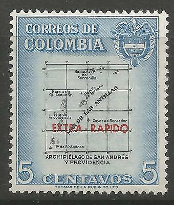 COLOMBIA. 1957. EXTRA-RAPIDO Overprint. SG: 906. Mint Never Hinged.