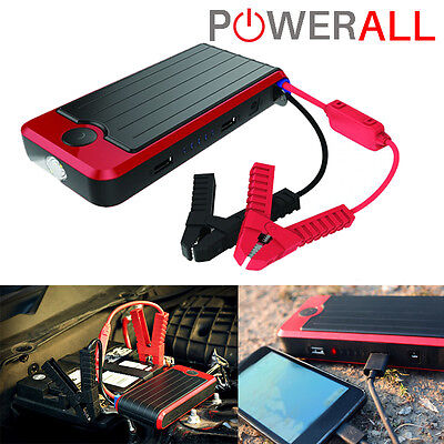 Powerall PBJS12000RD DELUXE Portable Vehicle Car Jump Starter All Weather 12V