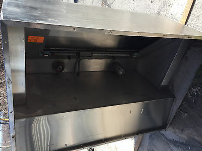"Exhaust 5'  Stainless Ehaust Hood Restaurant  Kitchen  ""hd820"""