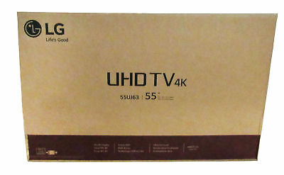 LG 55-Inch 4K Ultra HD Smart LED TV w/ 3 HDMI / 2 USB Ports & 60Hz Refresh Rate