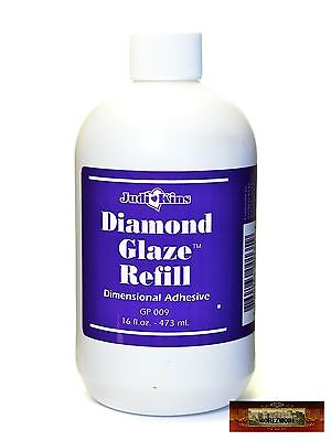 M01147 MOREZMORE 16 oz Judikins Diamond Glaze Refill Glass Like Finish Glue A60