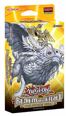YU-GI-OH! Trading Card Game ~ Realm of Light Structure Deck (Konami) #NEW