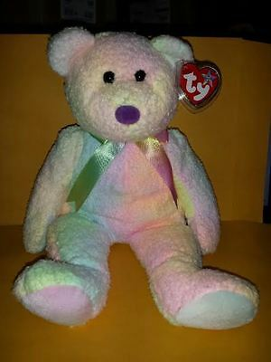 Ty Beanie Buddies Groovy Bear 14 Inch Plush Stuffed Animal 1999