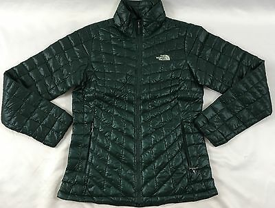 6adc21989 THE NORTH FACE Women Thermoball Full Zip Jacket Darkest Spruce Green S
