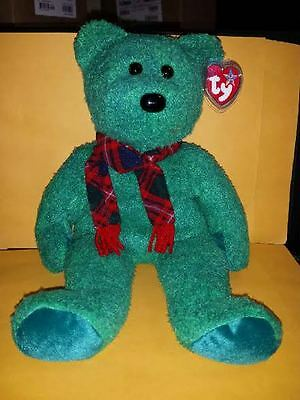 Ty Beanie Buddies Wallace Bear 14 Inch Plush 2000