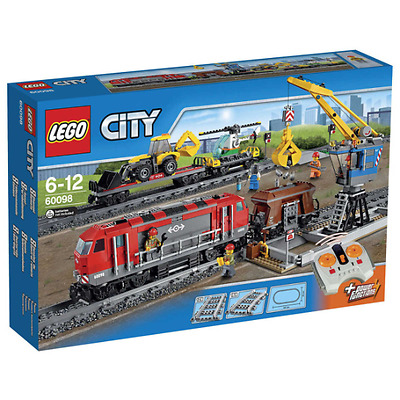 LEGO City 60098 Heavy Haul Train Set Brand NEW Sealed
