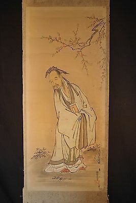 ORIGINAL EDO ERA KANO SCHOOL JAPANESE PAINTING / By Kano Sadanobu 1666-1722 # 1