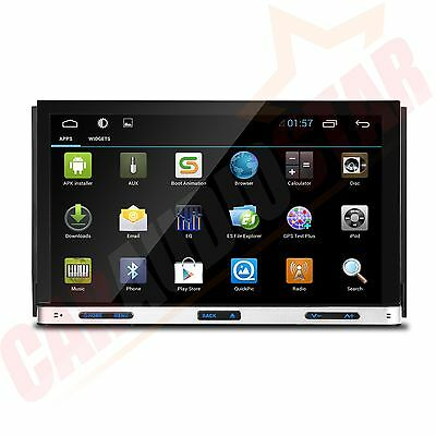 """XTRONS 7"""" Android 4.4 Double 2 DIN Car DVD Player Stereo Radio WiFi GPS Sat Nav"""
