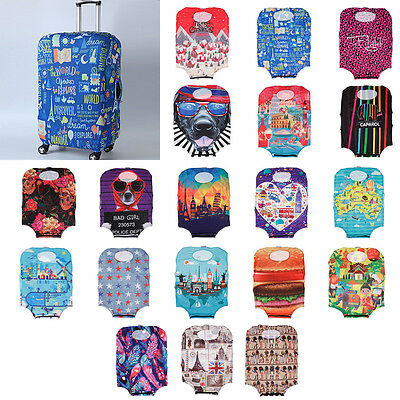 Durable S Size Elastic Luggage Dust Cover Suitcase Carrier Protective 19-21 inch