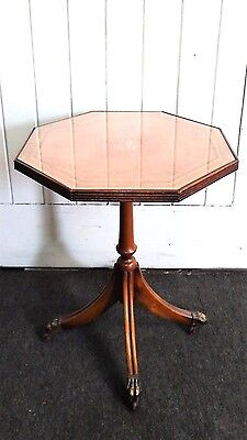 Antique style wine table / tripod plant stand
