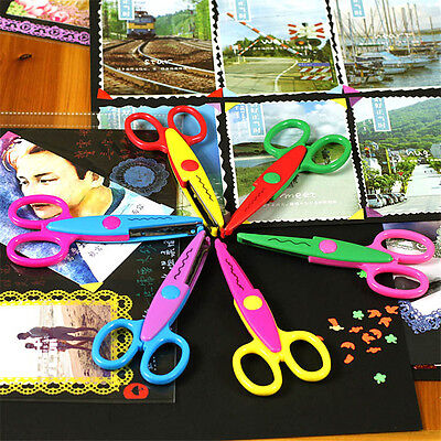 NEW Decorative Craft Border Sewing Scissors Scallop Wavy Pinking Paper Shears CU