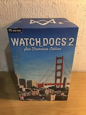 Watch Dogs 2 San Francisco Edition (PC DVD) with Marcus Statue