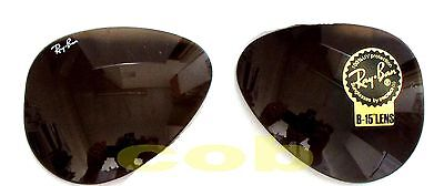 Ray Ban 3025 aviator Large Lenti Ricambio  B15 33 Brown  58 Replacement Lenses
