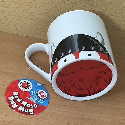 Red Nose Day 2017 - Mug - 'Norse Nose' Ceramic Coffee Mug - Comic Relief - NEW