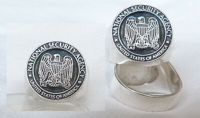 NSA . National Security Agency SILVER  RING