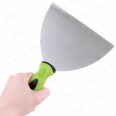 "WIDE 6"" DECORATING SCRAPER TOOL Soft Grip Handle Paint/Wall Paper Remover Tool"
