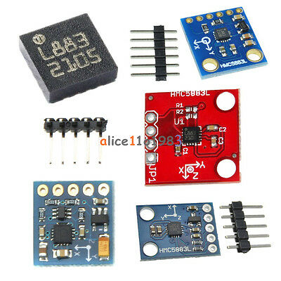 GY-273 GY-271 HMC5883L Triple Axis Compass Magnetomet Sensor 3V-5V For Arduino