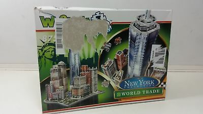 Wrebbit 3D 0665541020124 - World Trade - New York Collection Puzzle Spiel