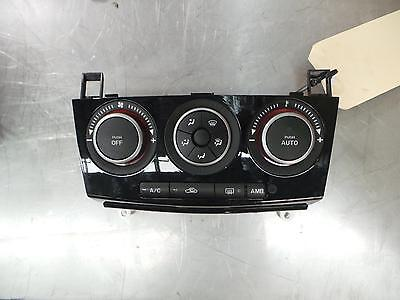 Mazda 3 Heater/ac Controls Bk, Mps, Gloss Black Face Type, 01/04-04/09 04 05 06