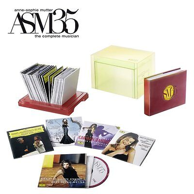 Anne-Sophie Mutter The Complete Musician Limited Edition 40CDs ASM35 alle DG-Auf