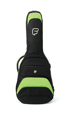 Fusion F1 Classical Lime - Guitar Case Gig Bag Backpack
