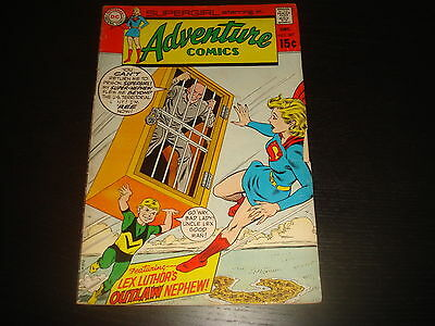 ADVENTURE COMICS #387 Supergirl DC Comic VG 1969