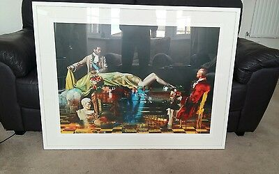 Conor Harrington - the unveiling, signed, framed, limited edition