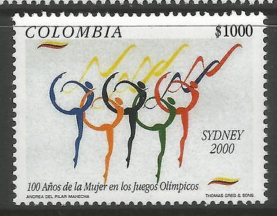 COLOMBIA. 2000. Olympic Games, Sydney Commemorative. SG: 2216. Mint Never Hinged
