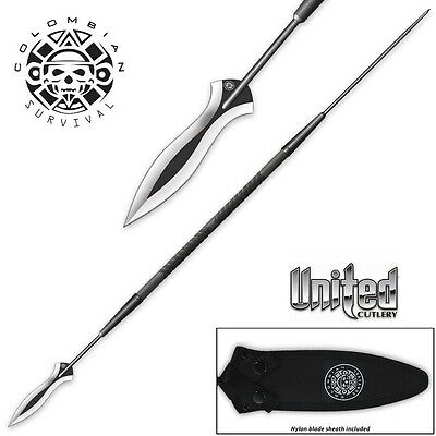 Colombian Survival Hunting Spear w/ Sheath by United Cutlery UC3103 New