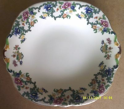 "Royal Cauldon Victoria Pattern. Fruit Plate 10"" x 9"""