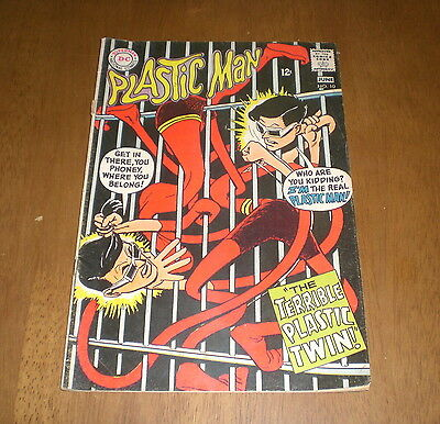 1968 PLASTIC MAN DC COMIC BOOK - No. 10