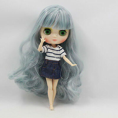 """8/"""" Neo Middie Blythe Doll Joint Body Nude Doll From Factory Hana no Ko Lunlun"""