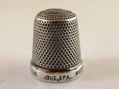 Antique Silver Thimble Henry Griffith & Sons Ltd Ref 164/4