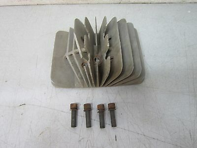 1972 Penton 100 Berkshire Cylinder Head with Shouldered Nuts