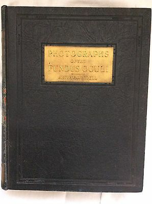 1929 Ophthalmology Photographs Of The Fundus Oculi Arthur Bedell Vol. 2