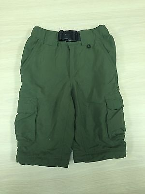 Boy Scouts Of America Boys Army Green Cargo Shorts Youth XS Switchback Uniform