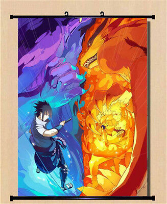 Hot Sale Naruto Itachi Uzumaki Sasuke Wall Poster Scroll Home Decor Japan Gifts